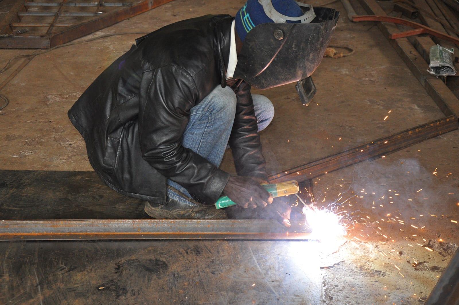 Education provided for welding skills