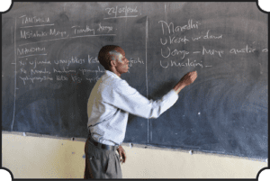 education and training for teachers at Mully