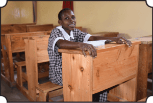 new benches and desks for mully children