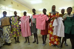 Yatta women's Center clothes making