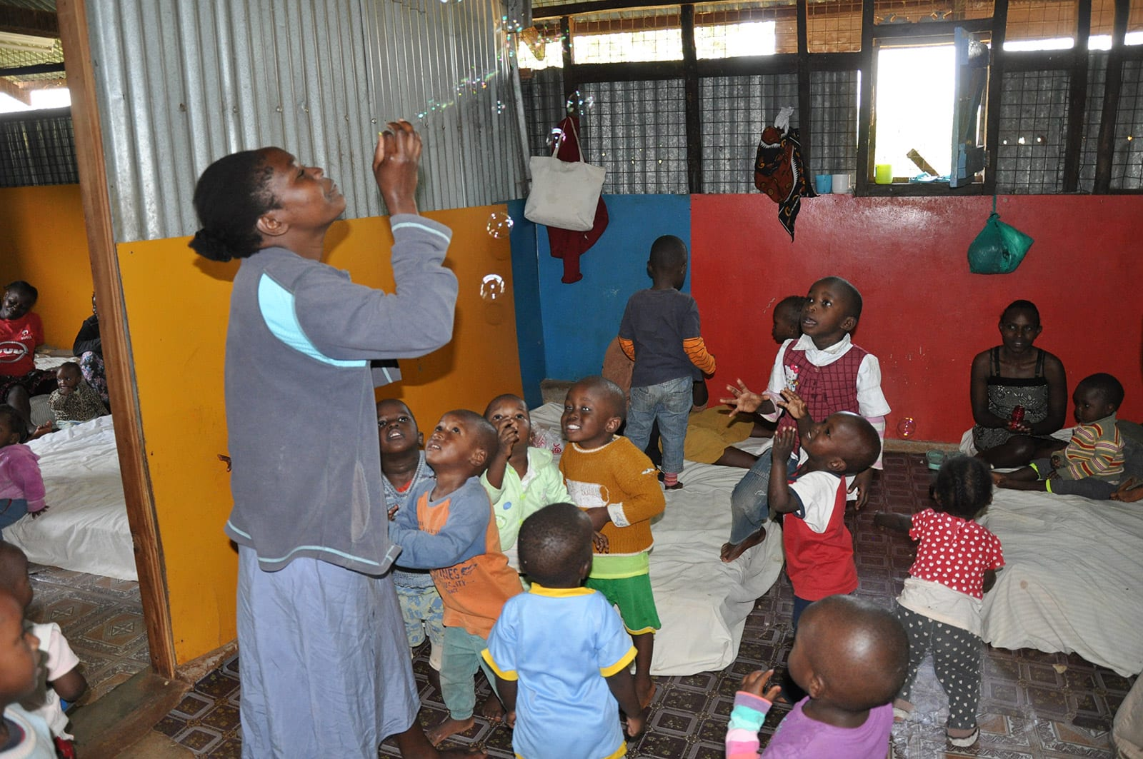 Yatta women's Center children playing
